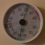 13日目温湿度計