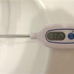 香織の洗顔温度