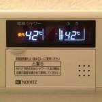浴室湯沸器パネル