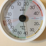25日目温湿度計