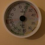 26日目温湿度計