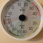 27日目温湿度計