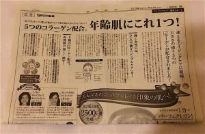 パーフェクトワン新聞広告