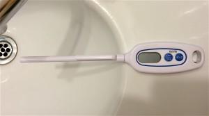 TANITA デジタル温度計 ホワイト TT-508-WH