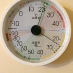 17日目温湿度計
