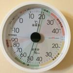22日目温湿度計