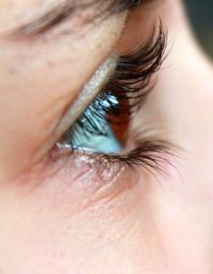 目の周りの皮膚が薄い